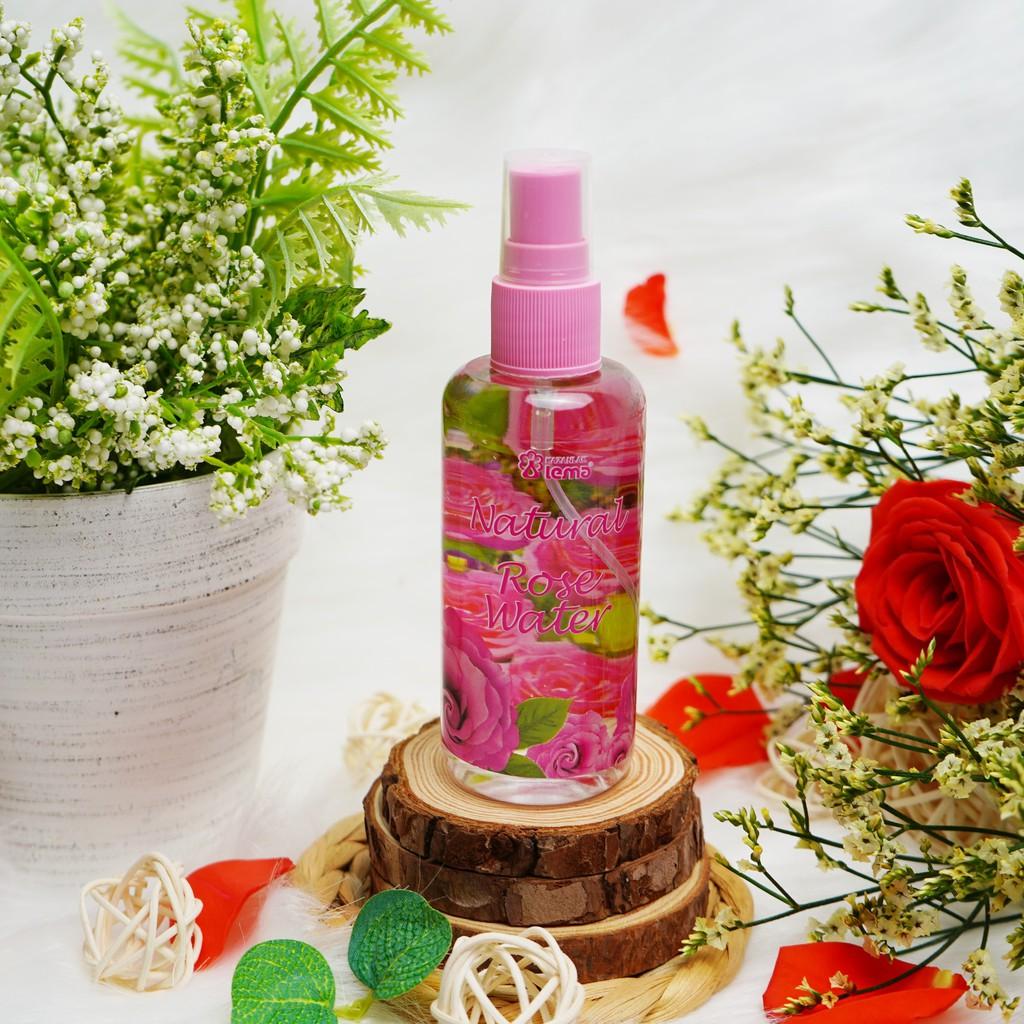 Nước hoa hồng Bulgaria thương hiệu Lema nguyên chất tự nhiên 100ml dạng xịt, nước hoa hồng nhập khẩu chính hãng