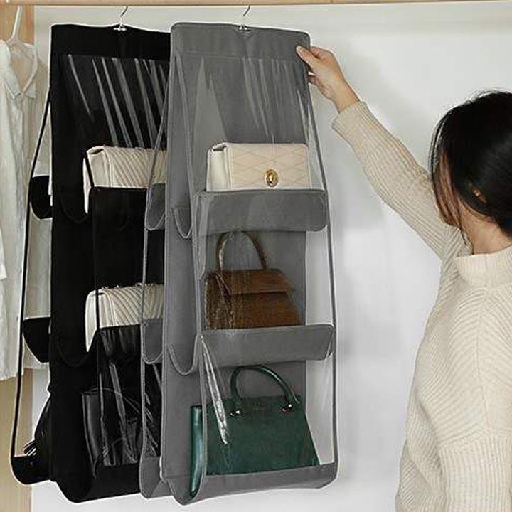 Túi treo giỏ xách 6 ngăn 3 tầng đa năng
