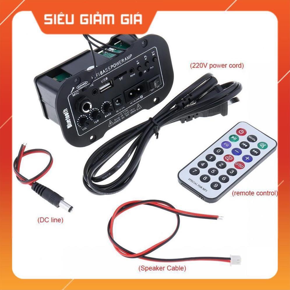 Bộ khuếch đại âm thanh Amply ô tô Hifi BASS POWER AMP 12V - 24V - Giá tốt nhất
