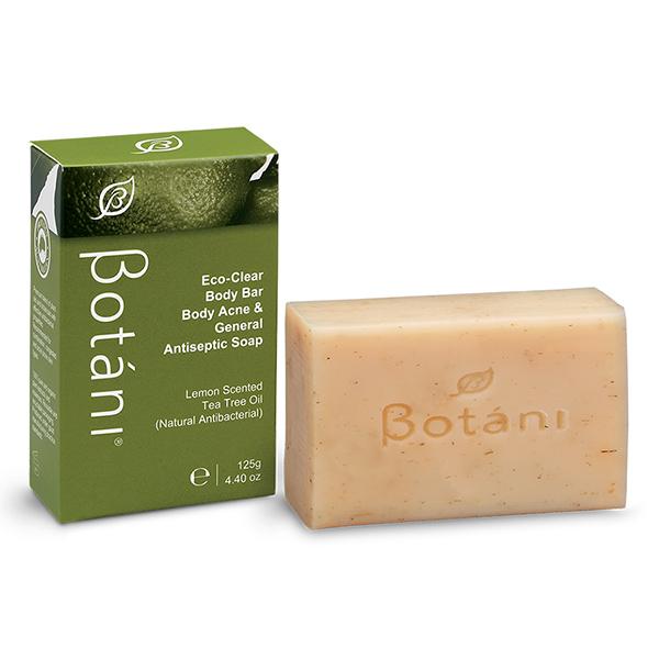 Xà Bông Tắm Kháng Khuẩn Cho Mẹ Và Bé – Eco-Clear Body Bar Body Acne & General Antiseptic Soap Botani BPSS026 125g