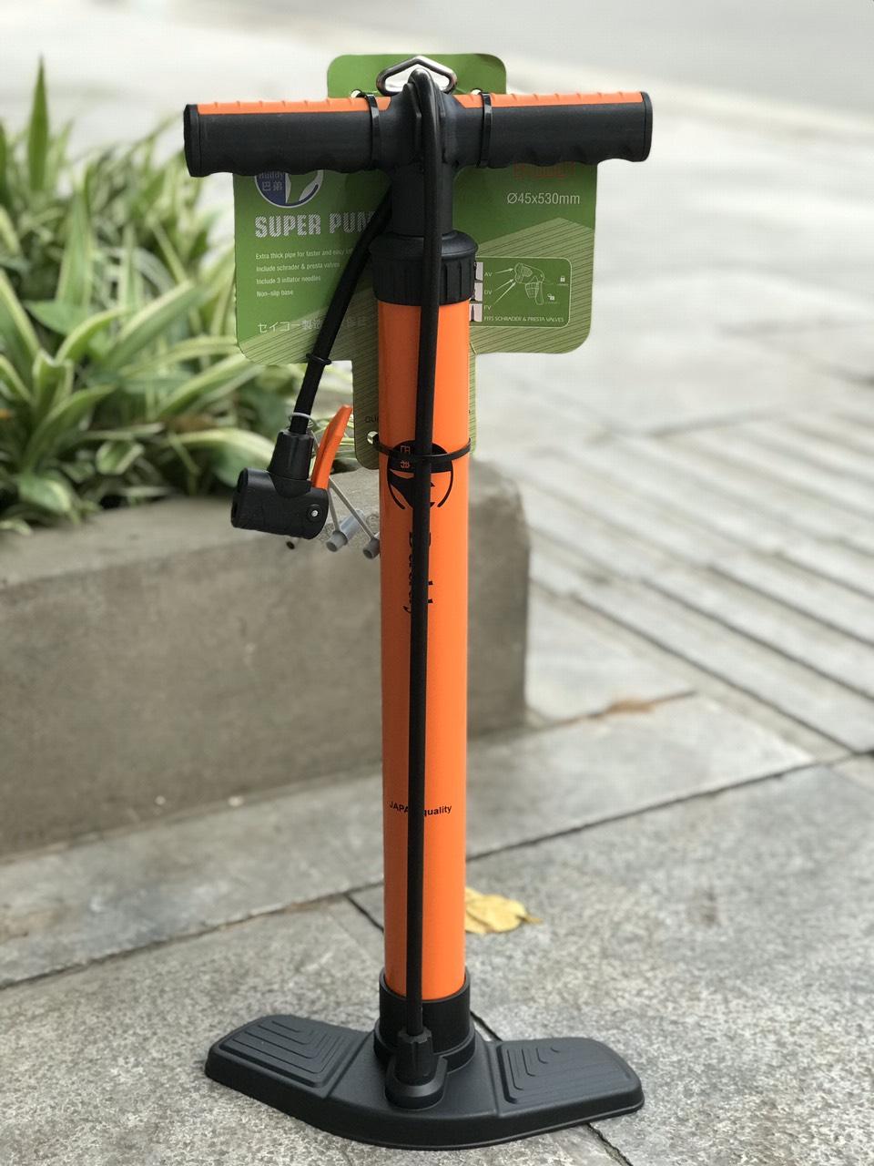 Bơm lốp xe đạp xe máy chính hãng BUDDY - Nhật Bản