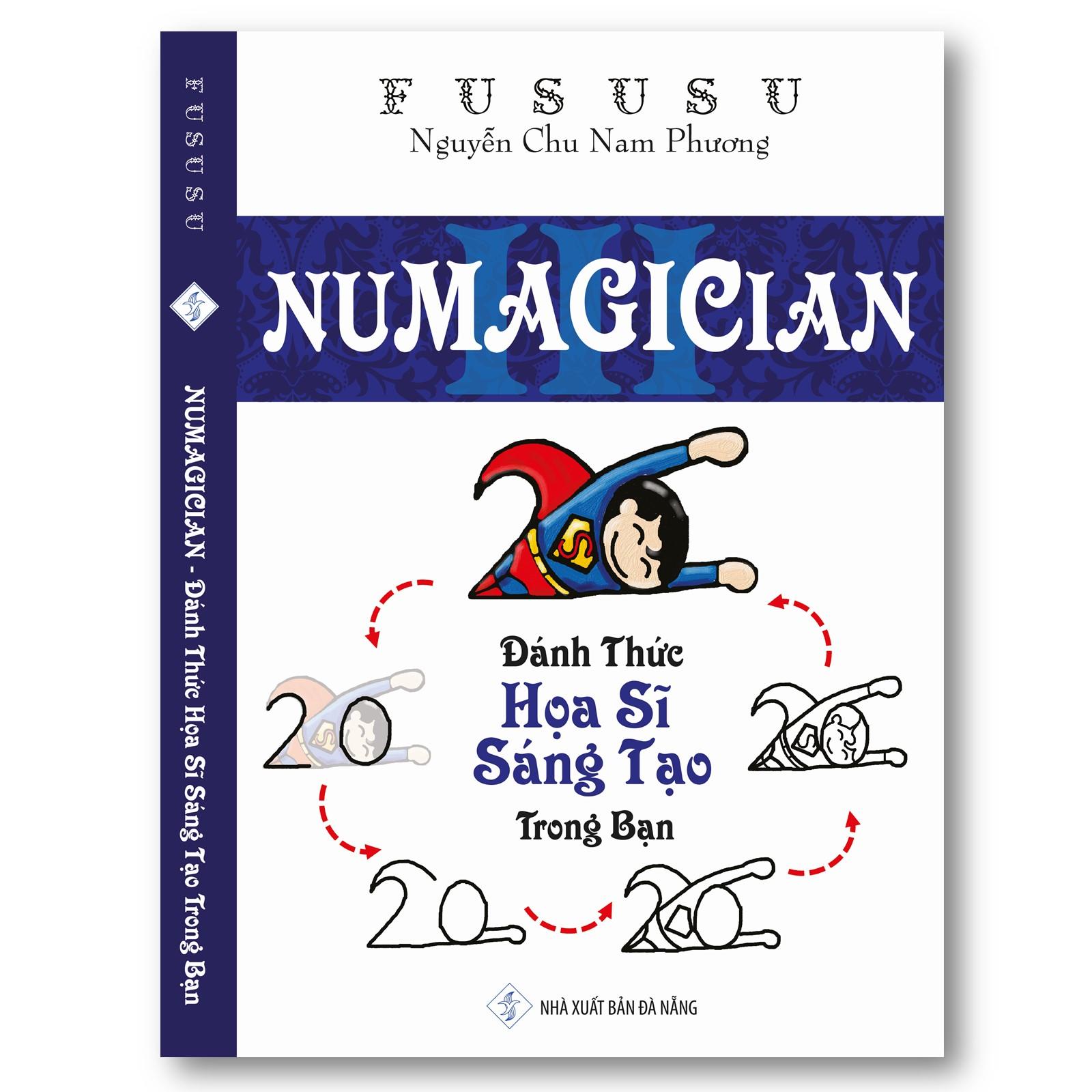 Numagician - Đánh Thức Họa Sĩ Sáng Tạo Trong Bạn - FuSuSu (Sách nhỏ mà có võ)