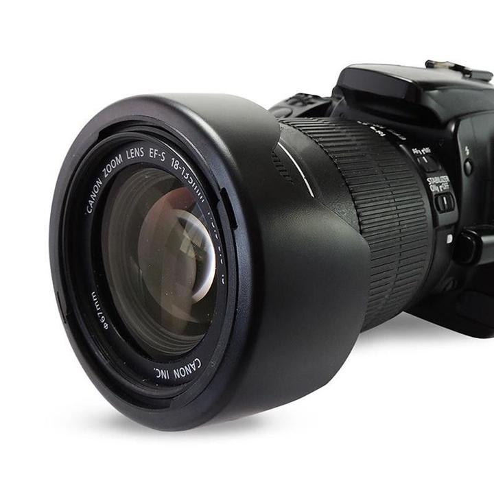 Loa che nắng hood EW-73B cho ống kính Canon EF-S 18-135mm f:3.5-5.6 IS STM