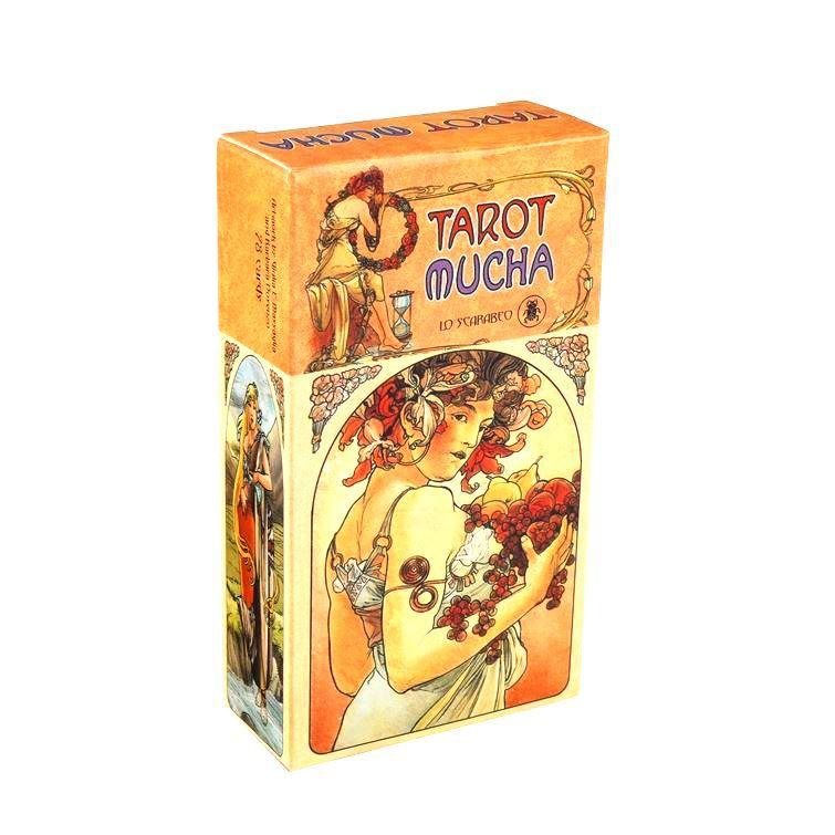 Bộ Bài Bói Tarot Mucha Card Deck Cao Cấp