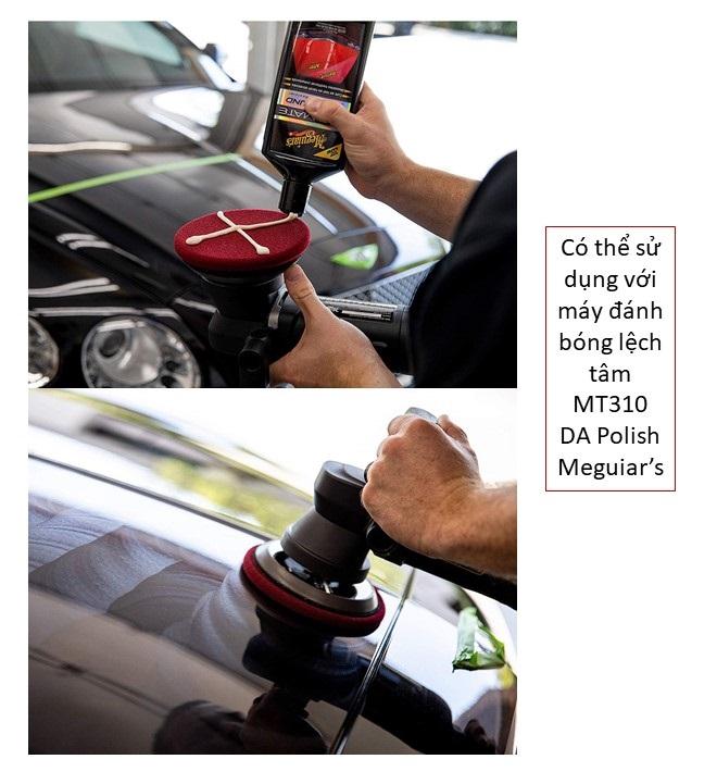 Meguiar's Xi đánh bóng bề mặt sơn xe ô tô (Xi bước 1) - Ultimate Compound - G17216, 450 ml