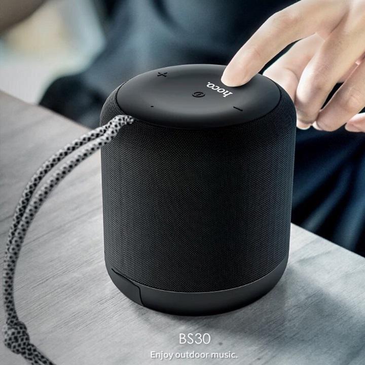 Loa Bluetooth Hoco BS30 màu Đen - Hàng nhập khẩu