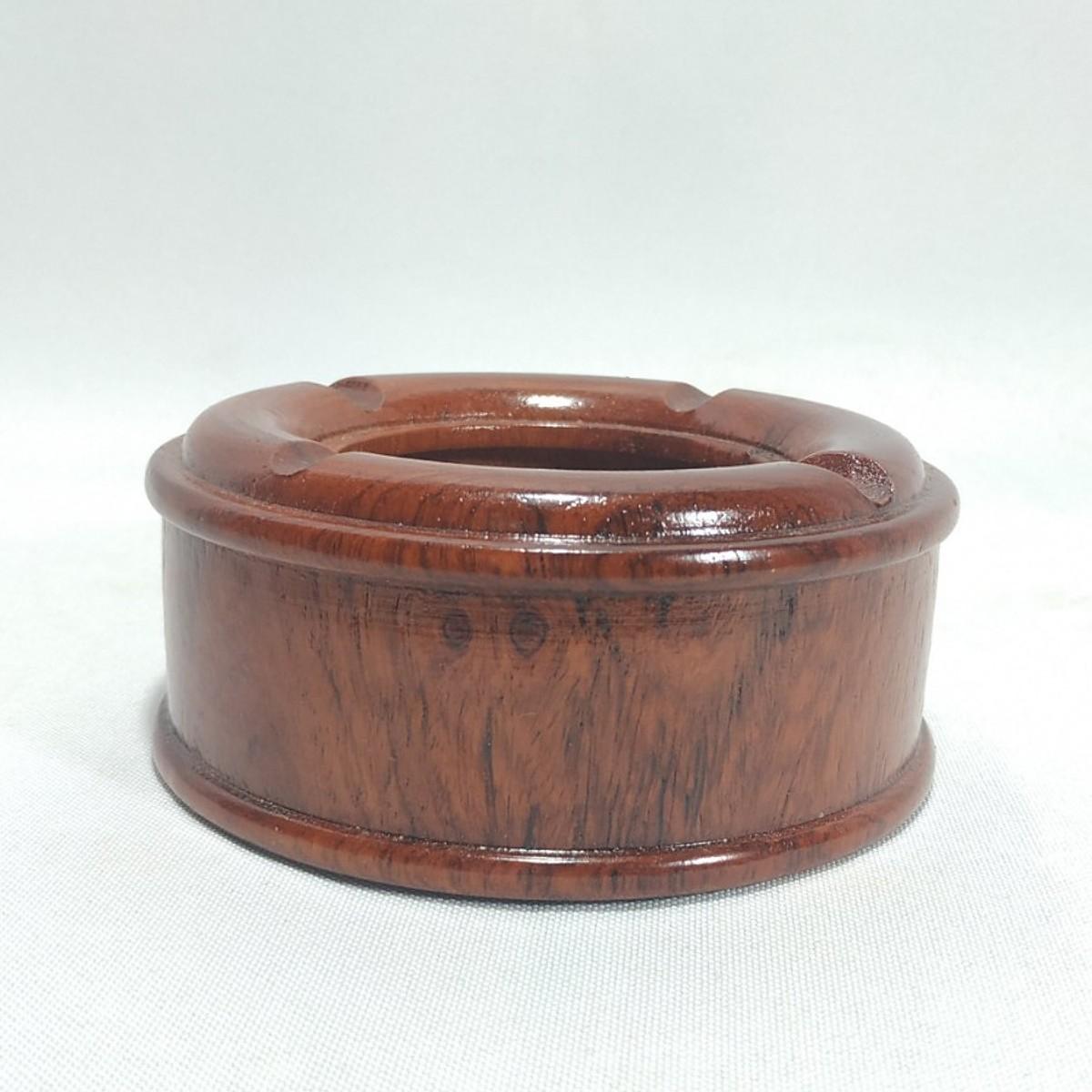 Gạt tàn tiêu trơn bằng gỗ hương MAI GOOD