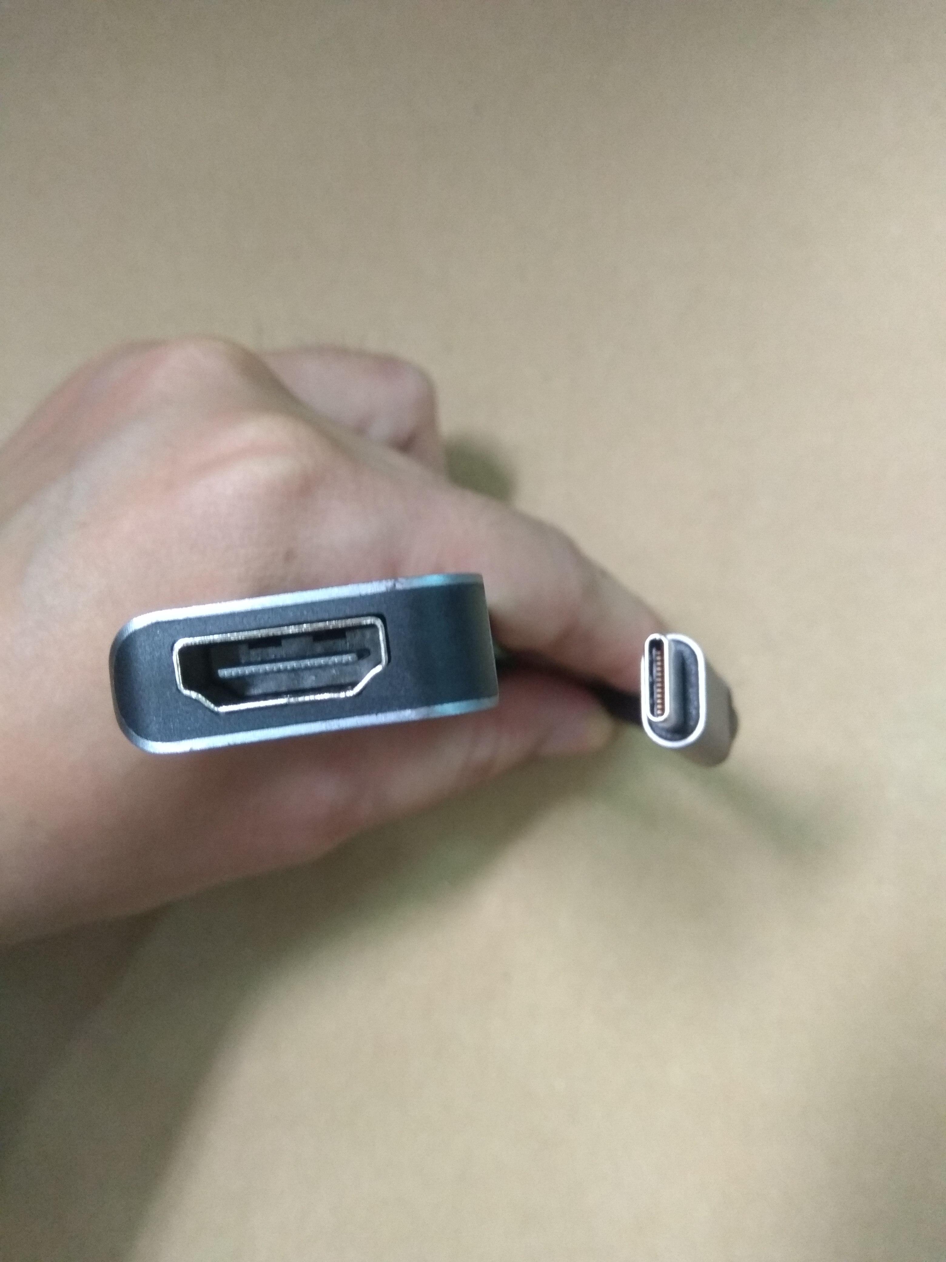 Cáp chuyển Thunderbolt 3 ra 5 cổng HDMI/ USB/ PD cho Macbook - TTH50558
