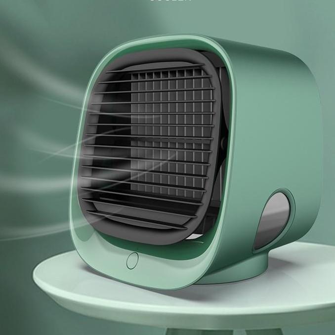 Quạt điều hòa làm mát bằng hơi nước kiêm đèn ngủ Mini Air Cooler