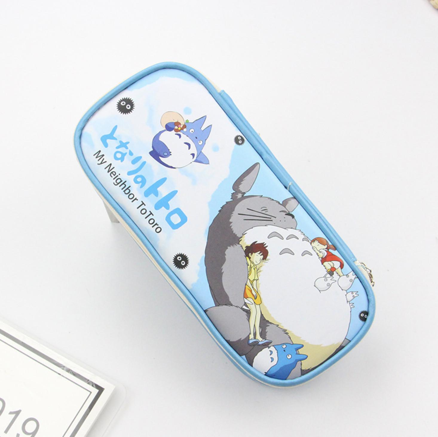 Hộp đựng bút TOTORO siêu dễ thương nhiều ngăn tiện dụng