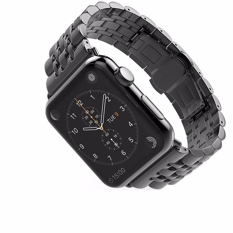 Dây Thép cho đồng hồ Apple Watch 44/42mm Mẫu mắt xích