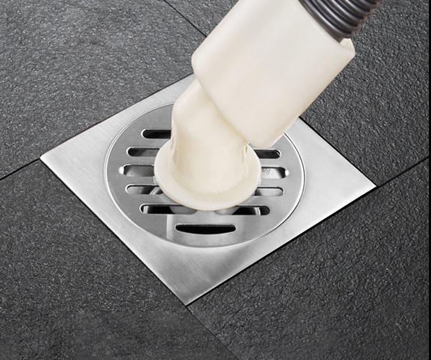 Phễu thoát sàn ngăn mùi cao cấp có lỗ thoát nước máy giặt