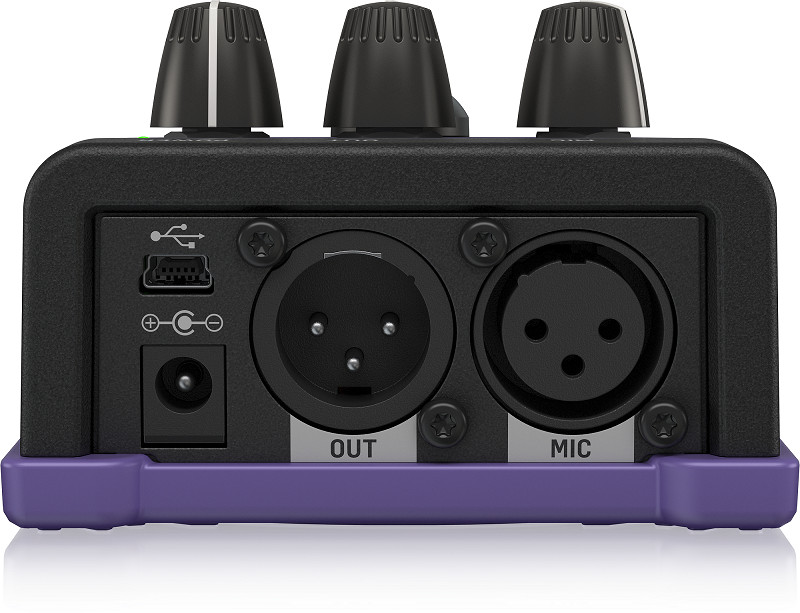TC Helicon VoiceTone X1 Megaphone & Distortion Vocal Pedal-Hàng Chính Hãng