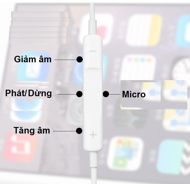 Tai nghe dành cho 8 Pin iPhone 7 iPhone 8 iPhone X - Nhập khẩu CT7
