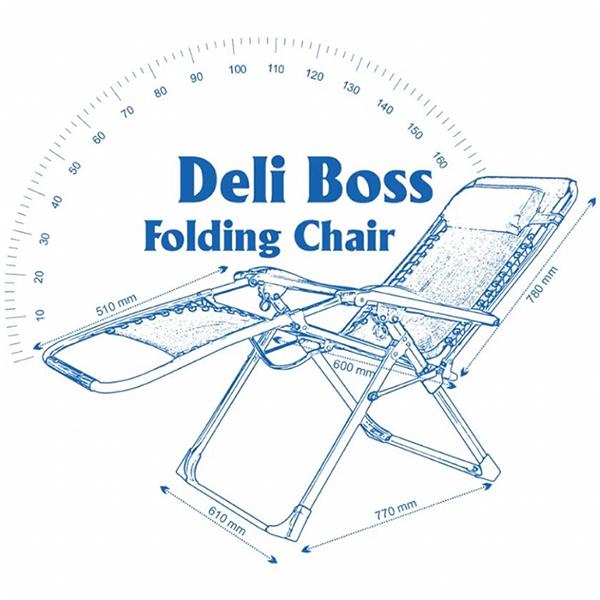 Ghế xếp du lịch DELI Boss - Màu sắc ngẫu nhiên