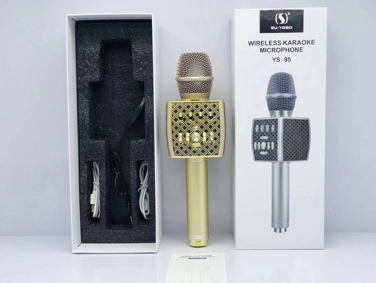 Micro Karaoke Bluetooth SU-YOSD YS-95 - Hàng Nhập Khẩu (Giao Màu Ngẫu Nhiên)
