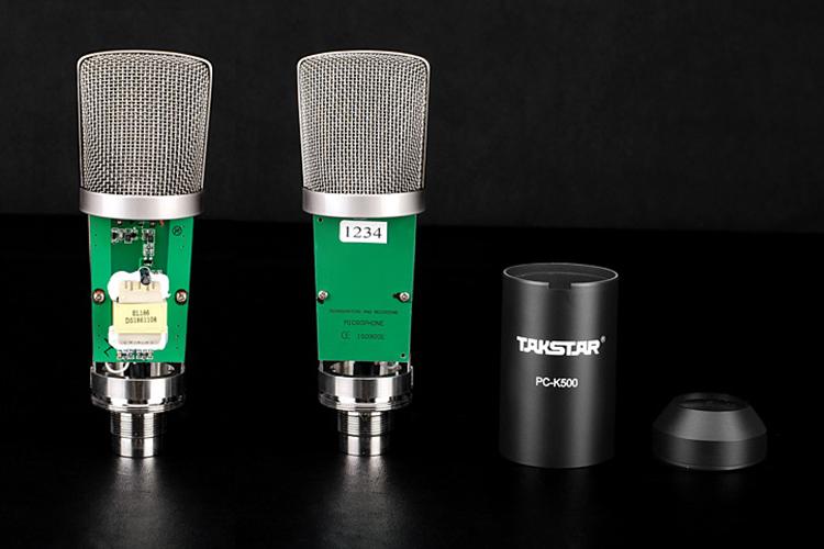 Micro Hát Karaoke Online Takstar PC-K500 (Mic)  - Hàng Chính Hãng
