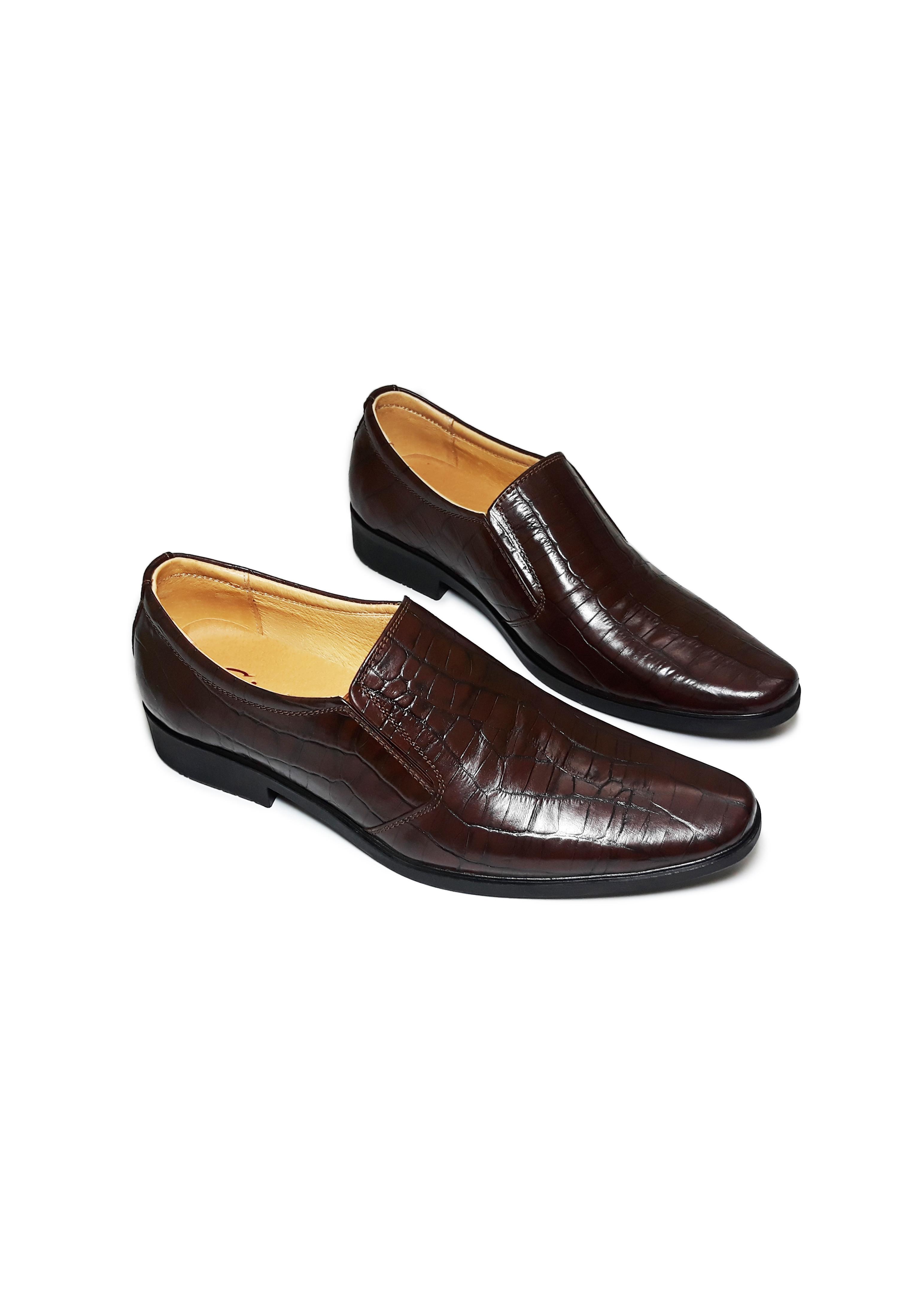 Giày Da Nam Cao Cấp Phong Cách Trẻ Trung Năng Động Lịch lãm, Giày Tây Nam HS22