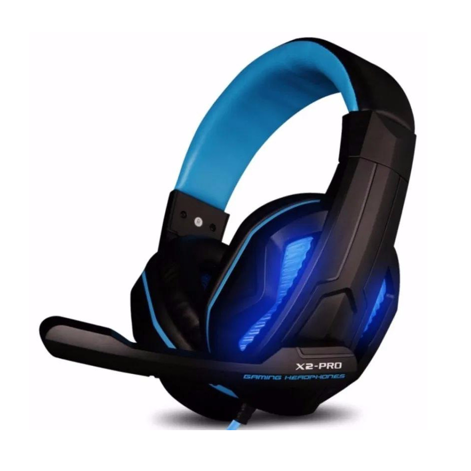 Tai nghe chụp tai Gaming Ovann x2pro tích hợp micro có led - Màu ngẫu nhiên - Hàng nhập khẩu