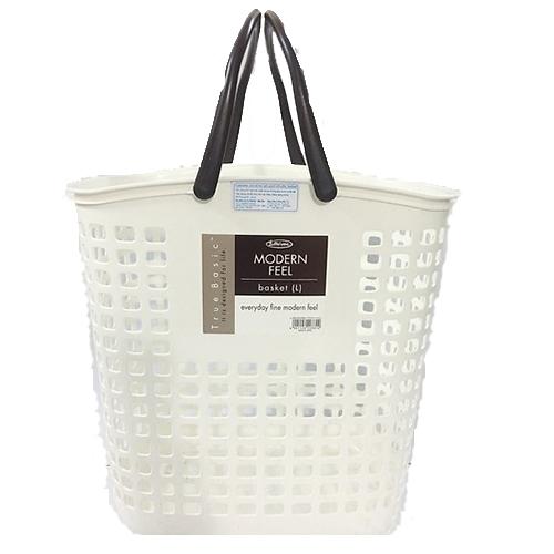 Giỏ đựng đồ giặt cỡ lớn , trắng - L_5033WB