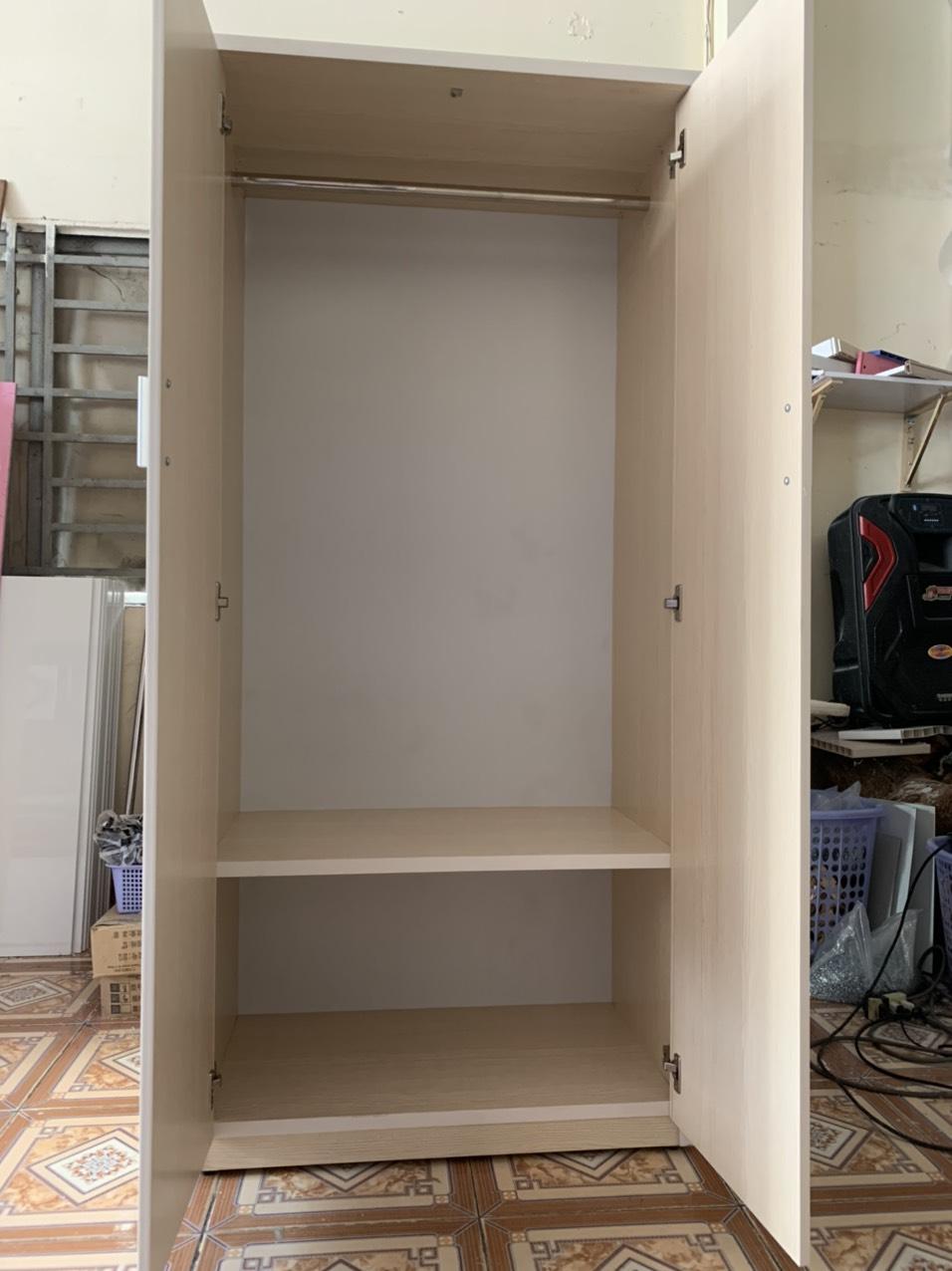 Tủ áo quần ngang 85 cao 1m8 sâu 45 cm