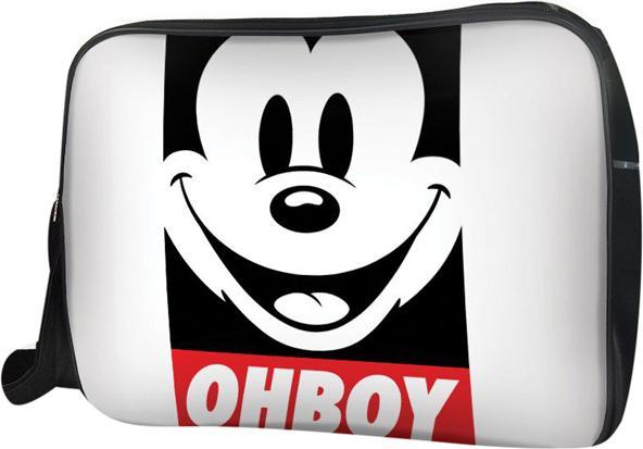 Túi Đeo Chéo Hộp Unisex Mickey Ohboy - TCFF240 34 x 9 x 25 cm