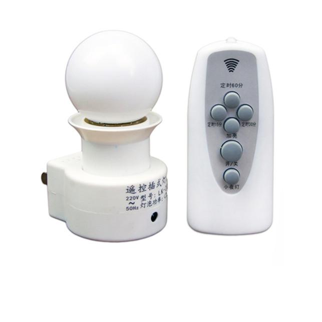 Đui đèn điều khiển từ xa bằng remote