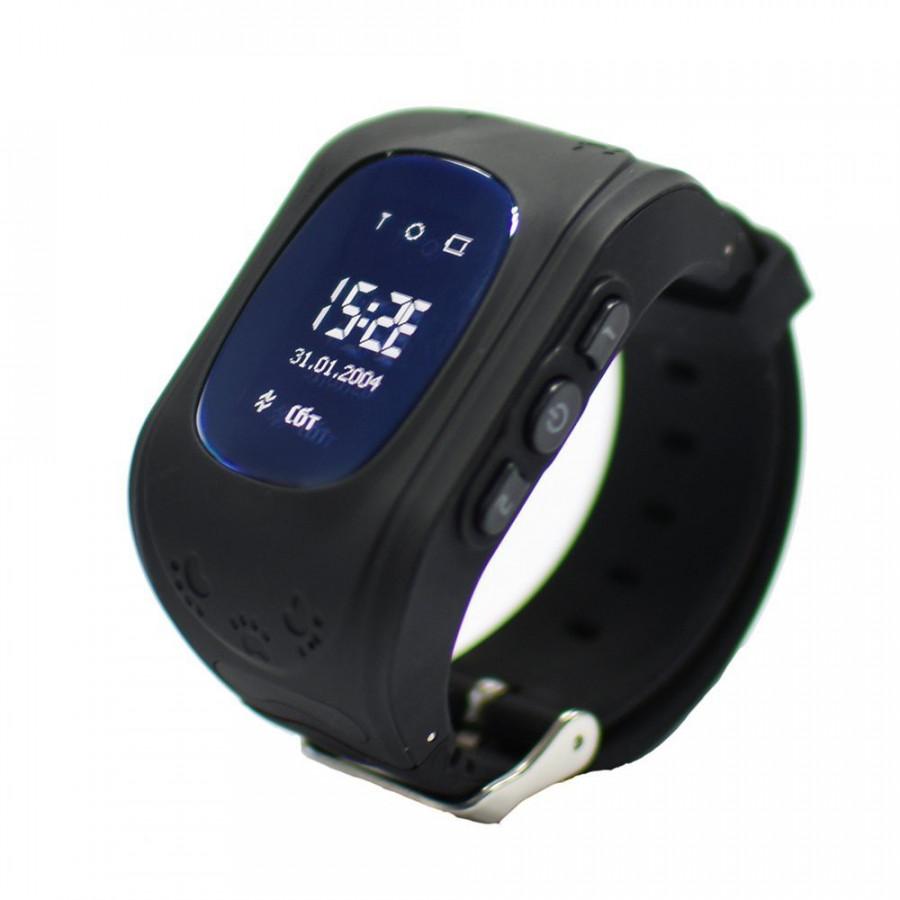 Đồng hồ định vị trẻ em q50 màu đen