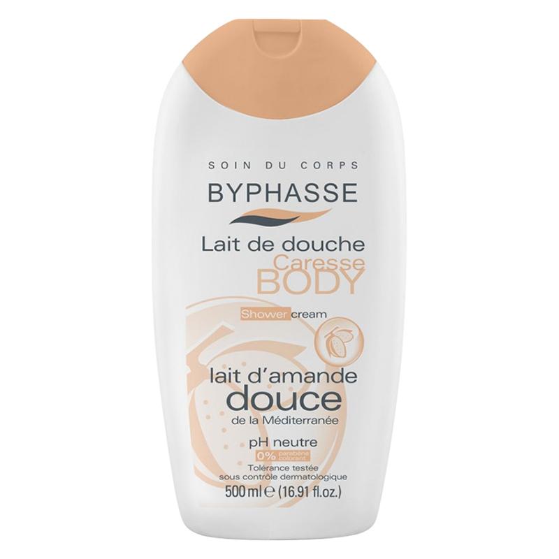 Sữa Tắm Byphasse Chiết Xuất Hạnh Nhân Và Sữa (500ml)