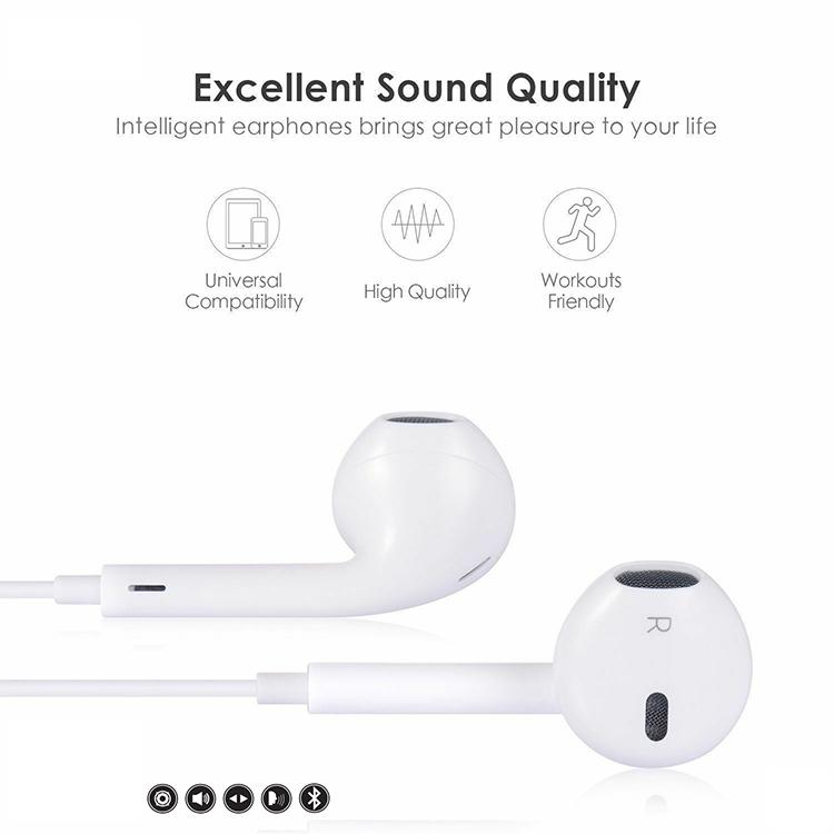 Tai Nghe Bluetooth Nhét Tai TITAN TN03 (Trắng) - Hàng Chính Hãng