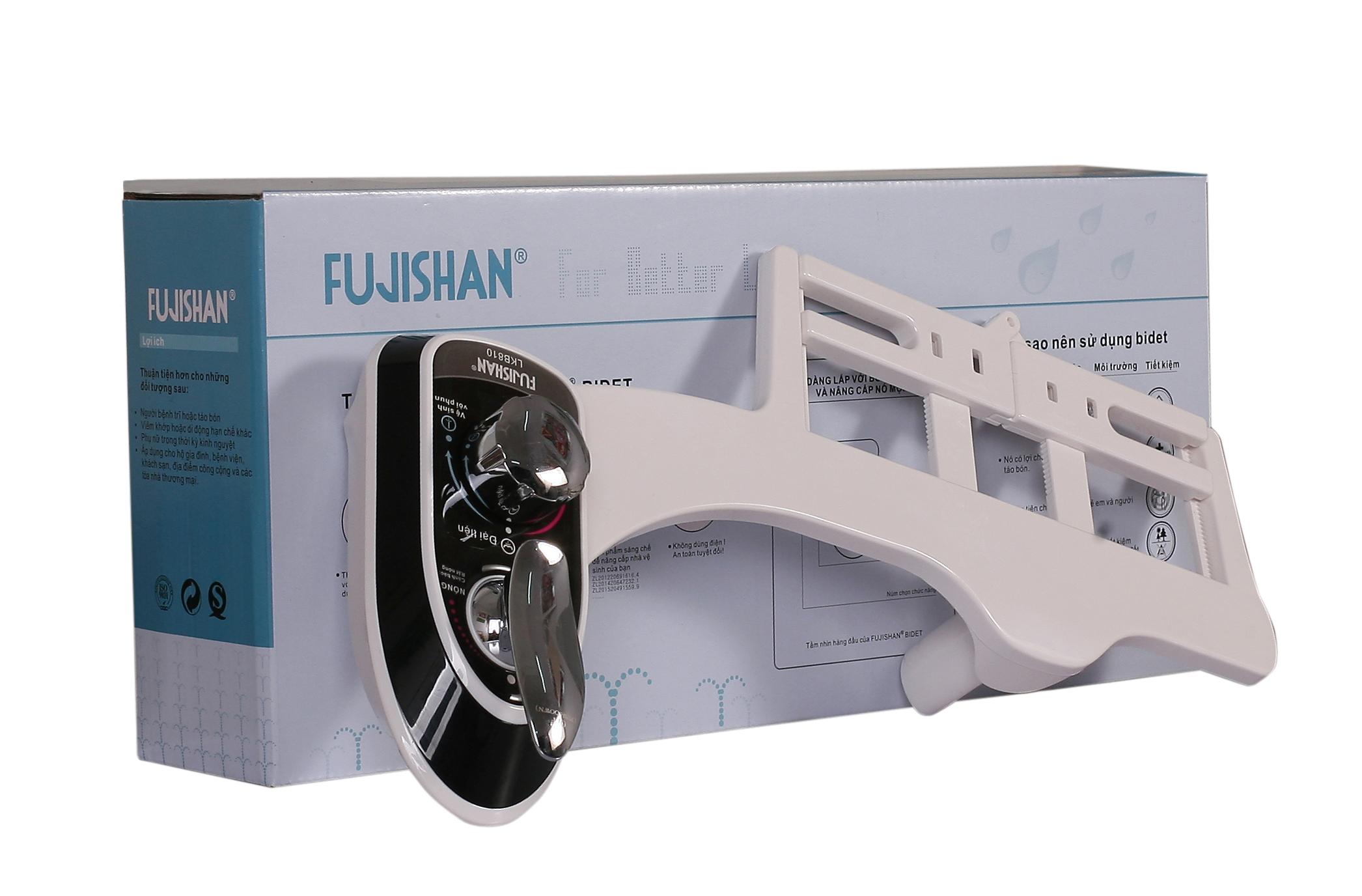 Thiết bị vòi rửa vệ sinh thông minh Fujishan Bidet