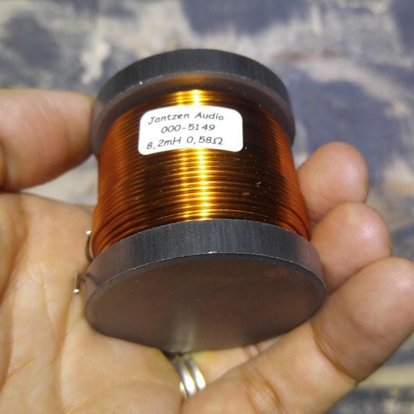 Cuộn cảm 8.2mH lõi sắt từ Jantzen hàng chính hãng