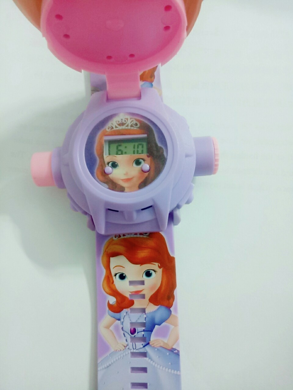 Đồng hồ chiếu 24 hình 3D công chúa sofia