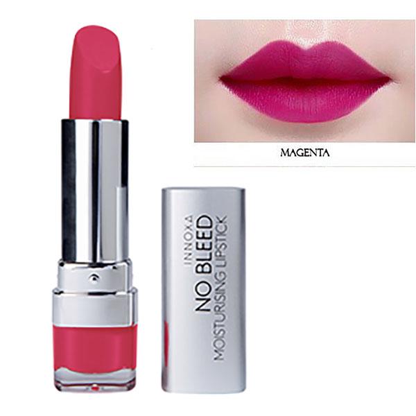 Son Lì Dưỡng Chất Chống Oxi Hóa Giảm Thâm Môi No Bleed Lipstick Innoxa Úc 3