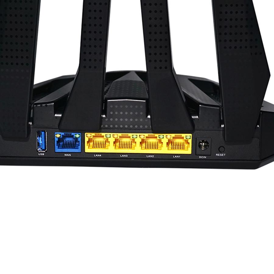 Router Wifi Công Suất Cao Băng Tầng Kép AC1900 APTEK A196GU - Hàng Chính Hãng