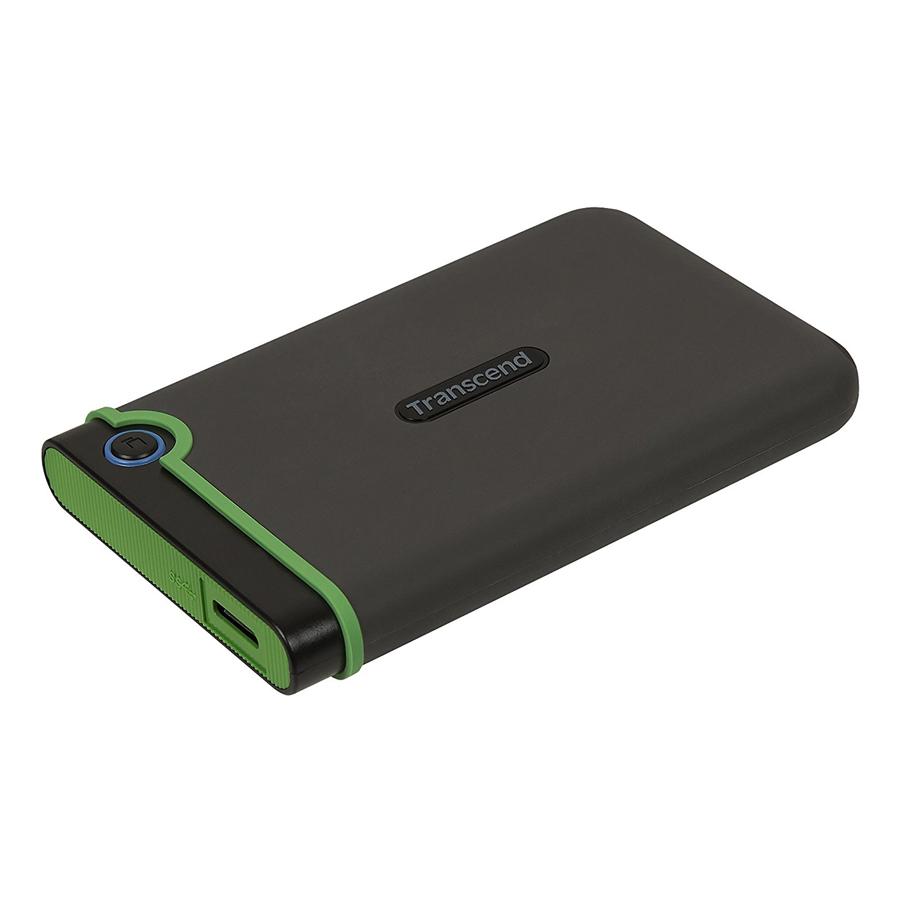 Ổ Cứng Di Động Transcend M3S 2TB Slim USB 3.0/3.1 TS2TSJ25M3S - Hàng Chính Hãng