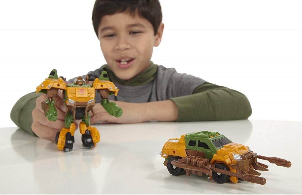 Mô hình Prime biến hình Beast Hunters Commander - Bulkhead Heavy Munitions chất liệu nhựa