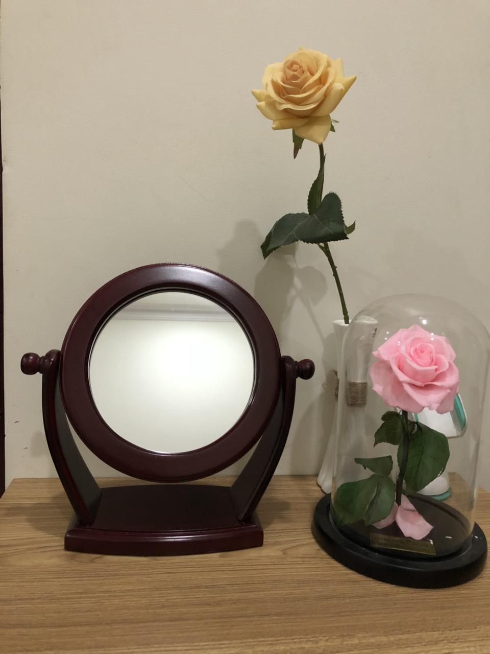 Gương soi trang điểm để bàn G007