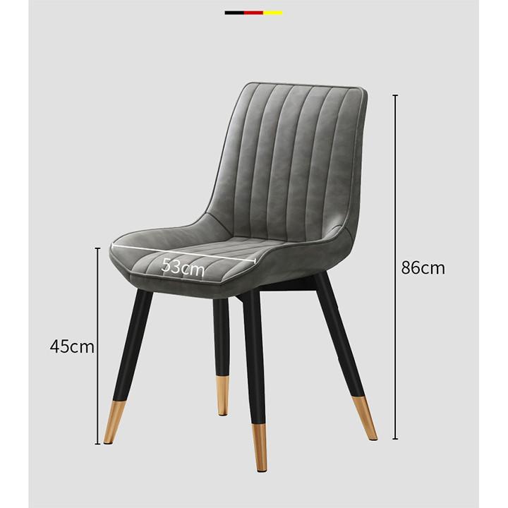 Ghế LOFT sọc lưng hiện đại (kt 86x45x53cm)