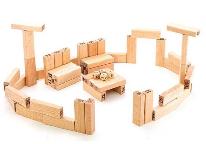 Bộ đồ chơi rút gỗ loại lớn+Tặng kèm quà cho bé- Đồ chơi gỗ thông minh-Bộ rút gỗ thanh lớn