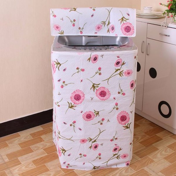 Vỏ Bọc Máy Giặt Loại đẹp - Tặng túi lưới giặt và cột tóc quả bơ