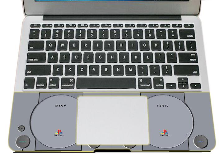 Miếng Dán Trang Trí Mặt Ngoài + Lót Tay Laptop  Logo LTLG - 271
