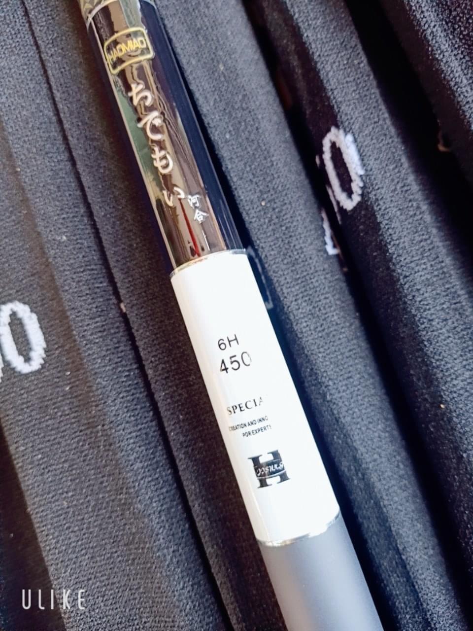 Cần câu tay Carbon - câu đơn, câu đài độ cứng 6H vân rắn rất đẹp