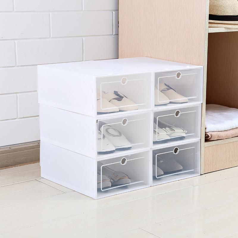Hộp Đựng Giày Dép Nhựa Cứng Trong Suốt - HO85 (Giao ngẫu nhiên mẫu)