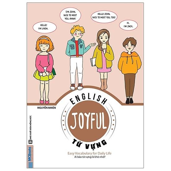 Joyful English - Easy Conversation For Daily Life (Tặng Kèm Bút Hoạt Hình  Cực Xinh) - Sách Học Tiếng Anh - Tác giả: Merry Wilson   ShopSach com