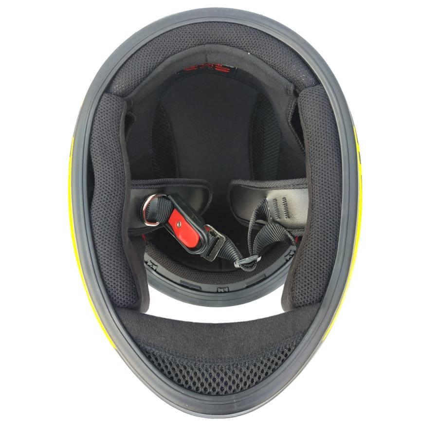 Mũ bảo hiểm fullface chính hãng Sunda 2000c đen nhám tem vàng