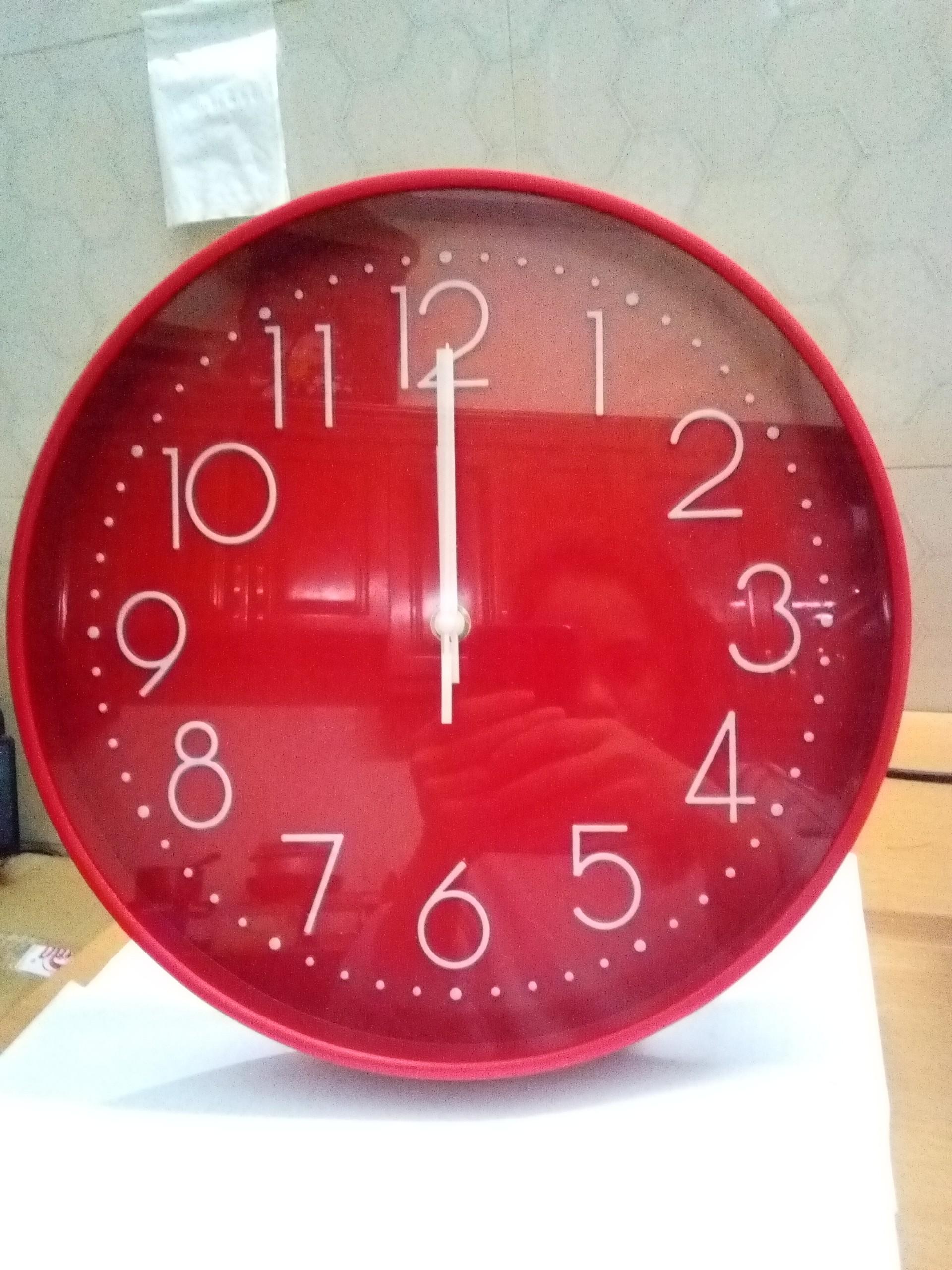Đồng hồ treo tường kim trôi cao cấp Colorful mini