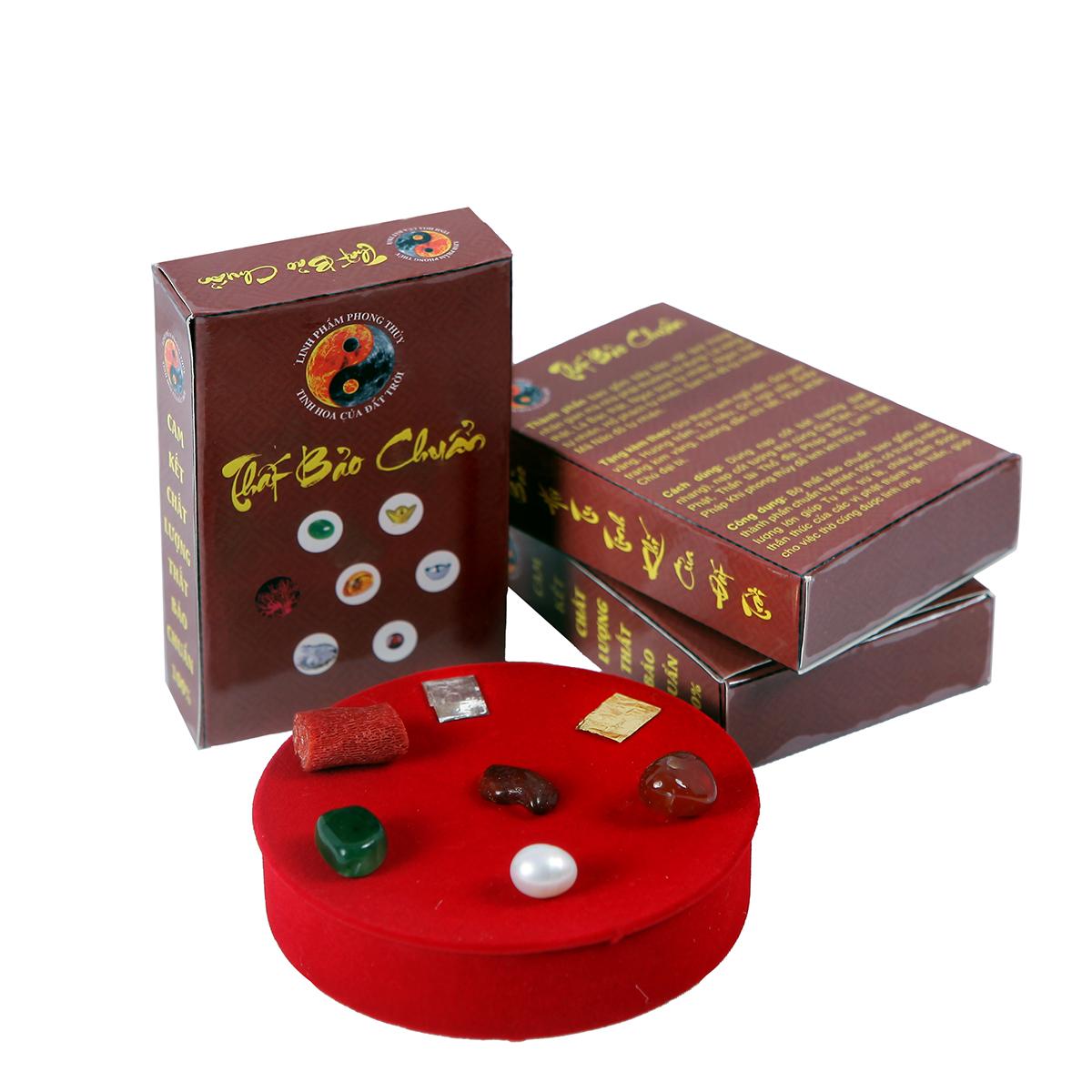 COMBO 2 - Bộ thất bảo, Cốt bát hương, cốt tượng chuẩn