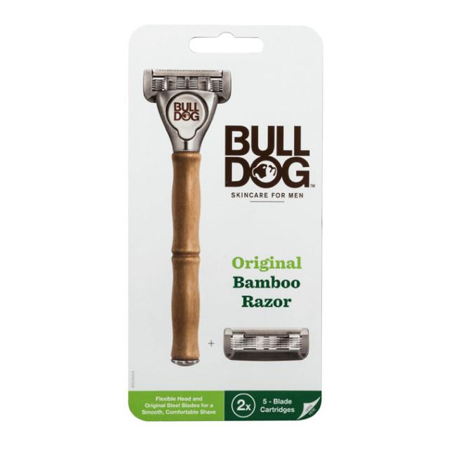 Dao Cạo Bulldog Original Bamboo Razor - Hàng UK
