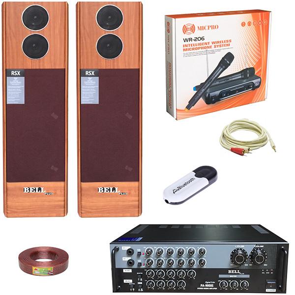 Bộ dàn karaoke gia đình PA - 8200 BellPlus (hàng chính hãng)